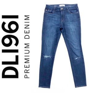 "DL1961 Florence 10"" Rise ""Pulse"" Skinny Jean"